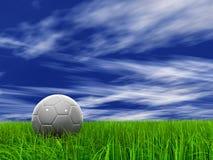 (a) herbe 001 à 9000 et ciel 008 (a) Images libres de droits