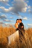 Herbe de couples Photo stock