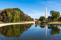 Herbe de jardins de Washington Monument Natural Landscape Constitution photos stock