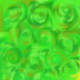 Herbe de Swirly illustration libre de droits
