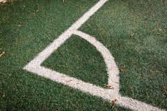 Herbe du football photos stock