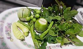 Herbe et légume Photos libres de droits