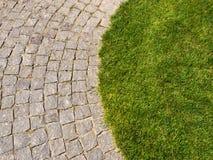 Herbe et pierres Photo libre de droits