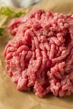Herbe organique Fed Ground Lamb Meat photographie stock