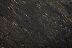Herbe sèche roussie sur une pente noire Photographie stock