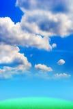 Herbe verte abstraite Image libre de droits