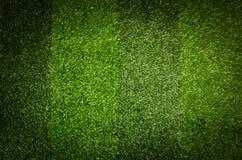 Herbe verte artificielle Photos libres de droits