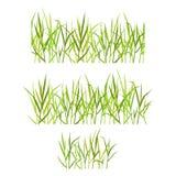 Herbe verte réaliste Image libre de droits
