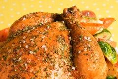 Herbed Chicken Stock Photo