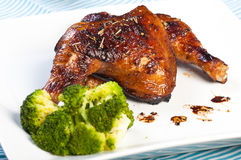 Herbed chicken Royalty Free Stock Photography