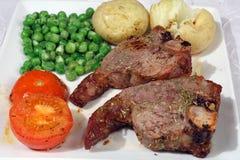 Herbed grillte Hieb Stockfotografie