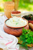 Herbed Mashed Potato Royalty Free Stock Images