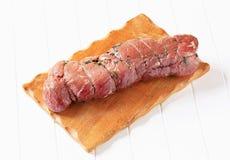 Herbed nötköttfläskkarré royaltyfria foton