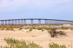 Herbert Bonner Bridge North Carolina imagen de archivo libre de regalías