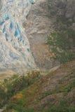 Herbert Glacier Toe Imagen de archivo libre de regalías