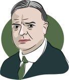 Herbert Hoover Arkivfoton