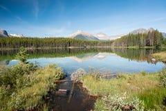 Herbert jeziora panorama Zdjęcie Royalty Free