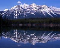 Herbert jezioro, Alberta, Kanada. Zdjęcia Royalty Free