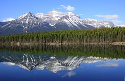 Herbert Lake. Royalty Free Stock Photography