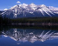 Herbert Lake, Alberta, Canada. Royalty Free Stock Photos