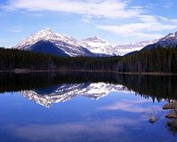 Herbert Lake, Banff National Park. Royalty Free Stock Images