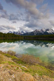 Herbert Lake in Banff Royalty Free Stock Photo