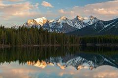Herbert Lake, Canada Royalty Free Stock Photos