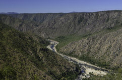 Herbert River gorge Royalty Free Stock Image