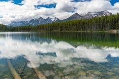 Herbert See, Alberta, Kanada stockfotografie