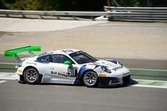 Herberth Motorsport Porsche 911 GT3 R przy Monza Obraz Royalty Free