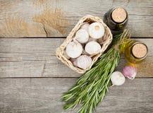 Herbes, épices et assaisonnement images stock