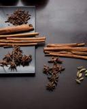 Herbes d'épice Photo stock