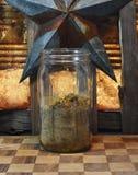 Herbes dans un pot Photo stock