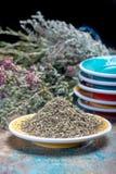 Herbes de Провансаль, смесь высушенных трав учитывало типичный  стоковая фотография rf