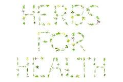 herbes de santé photos stock