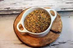 Herbes de thé Photo stock