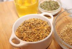Herbes de thé Photographie stock libre de droits