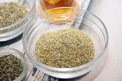 Herbes de thé Image libre de droits