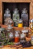 Herbes et épice image libre de droits