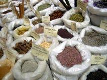 Herbes et épices Photos stock