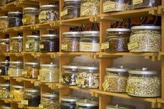 Herbes et épices Photographie stock