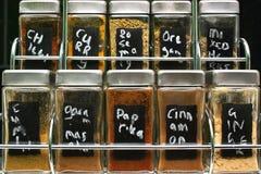 Herbes et épices Images stock
