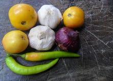 Herbes et épices avec l'espace de copie Images libres de droits