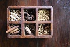 Herbes et ingrédients de Balinese Image libre de droits