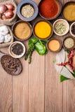 Herbes indiennes Photos stock