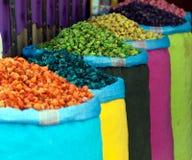 Herbes sèches colorées Photographie stock