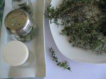 Séchage d'herbes Images stock