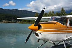 Herbewegungsflugzeug Stockfotos