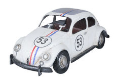 Herbie στο άσπρο υπόβαθρο στοκ εικόνες