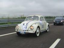 Herbie auf dem A4 Lizenzfreie Stockfotos